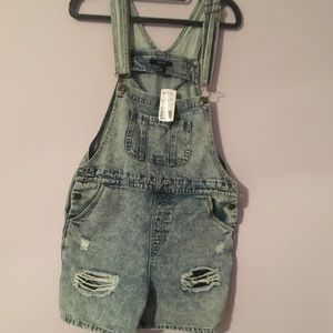 Forever 2 denim overalls